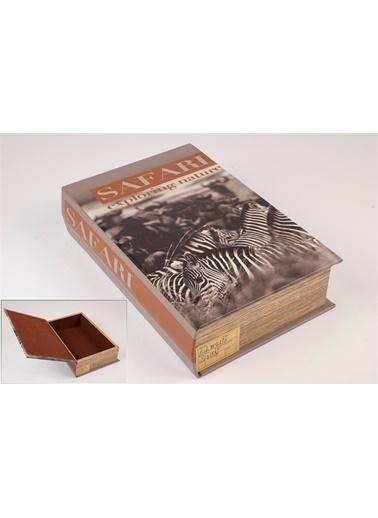 Mikasa Moor Safari Kitap Şek Kutu 27X18Cm Renkli